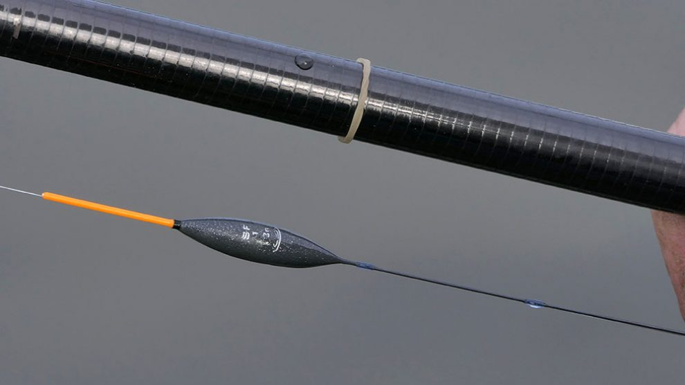 The Drennan SF1 pole float is great for 'on the drop' caster fishing.