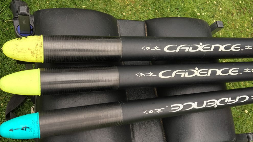 Strong: The Cadence mini extensions help preserve your main pole. Alan has fitted durable skid bungs to his.