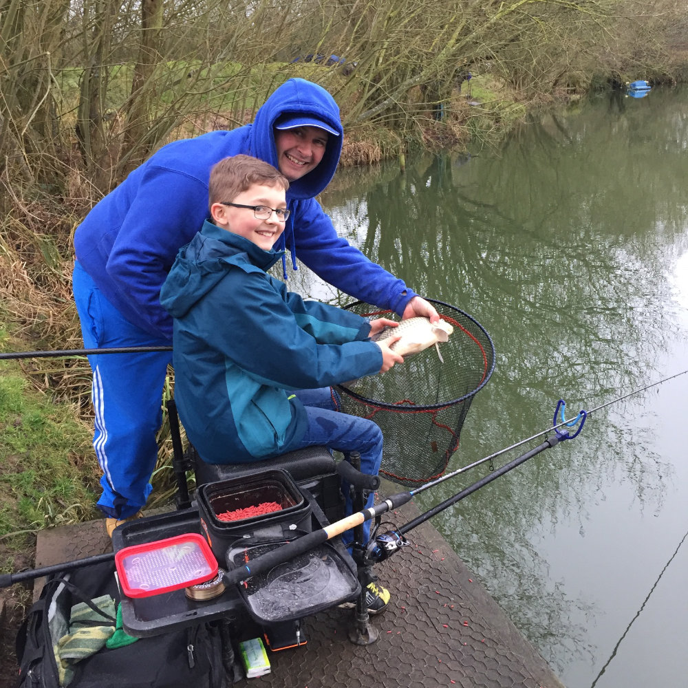Become and angling mentor