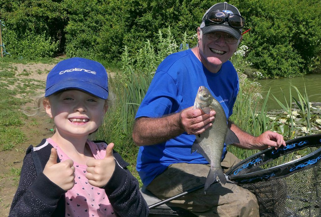 Fishing with Stephen Chatfield