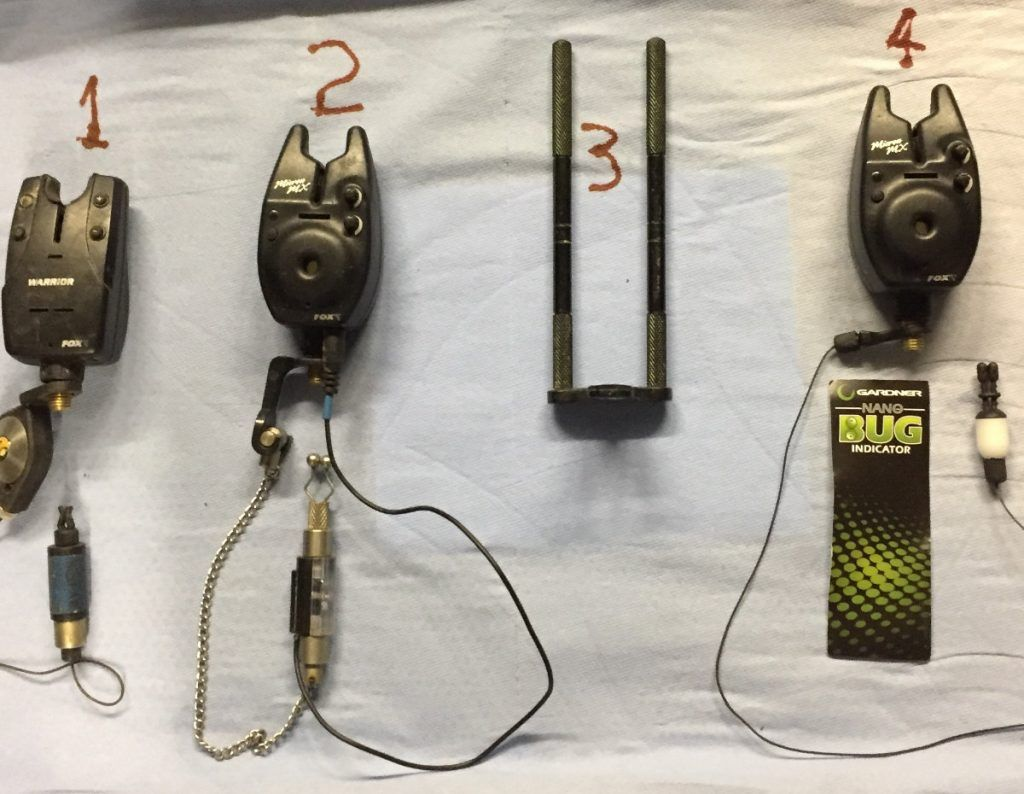 Bite Alarms Set Up