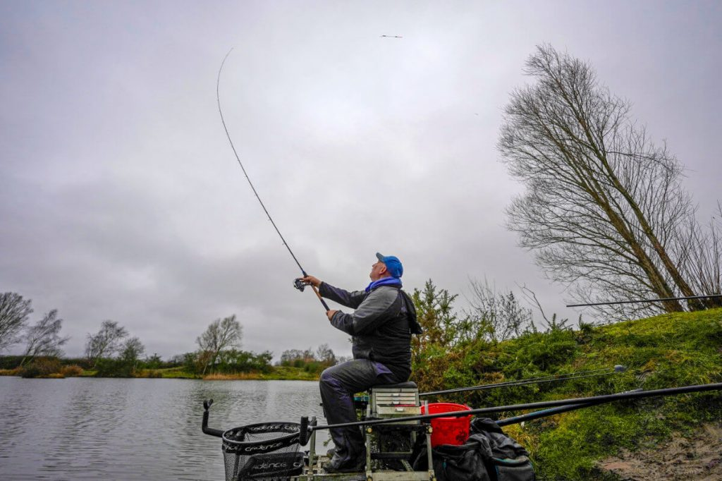 Casting a waggler