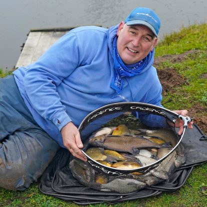 Keith Easton Silver Fish Fishing