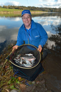 Alan Barnes Ribble blog catch shot