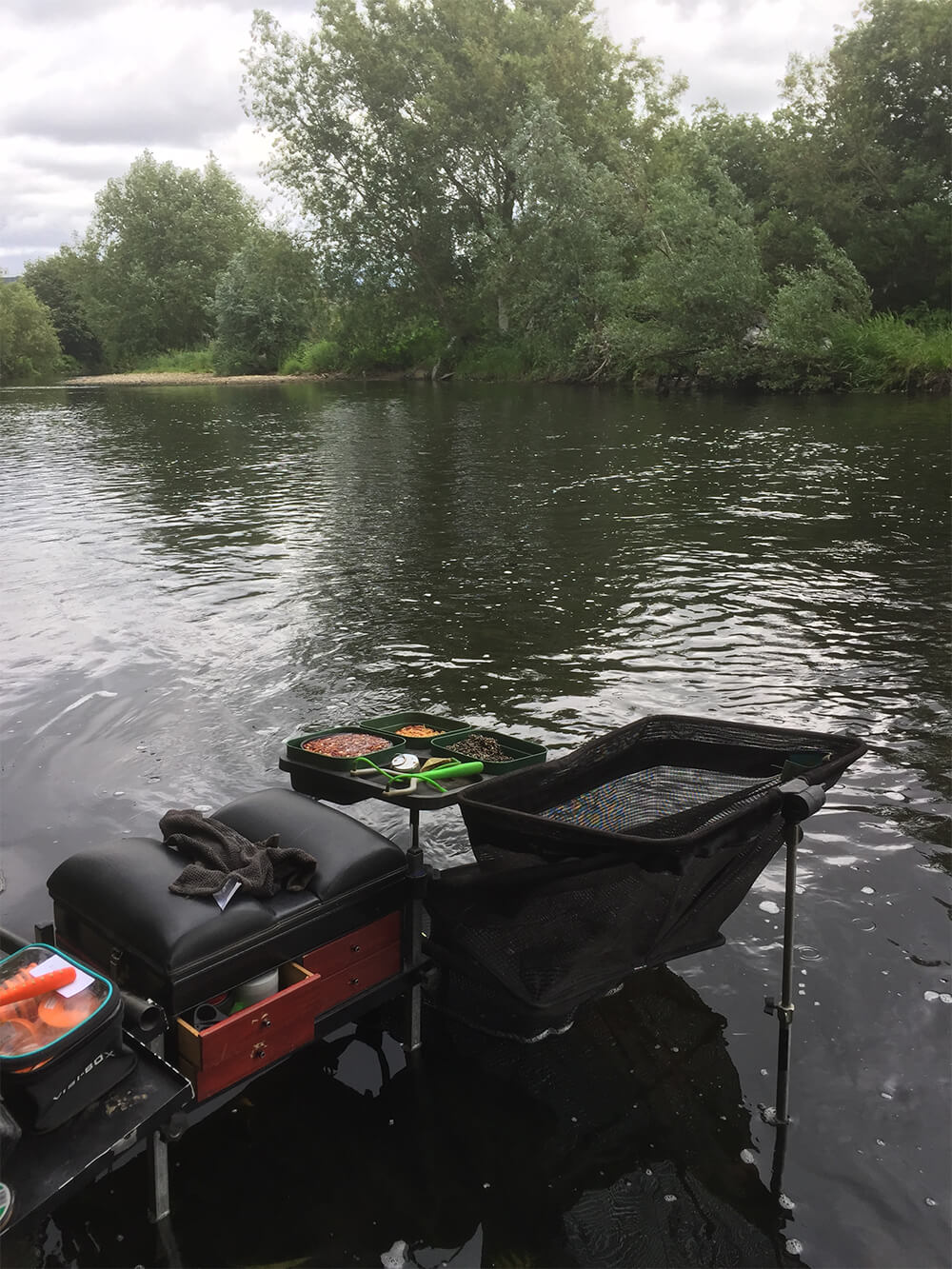 WILLOWS SPELL CHUB: Watercraft is important in shallow summer pegs and clear water. If you have a peg with willows hanging over it, there is usually a chance of a chub or two.