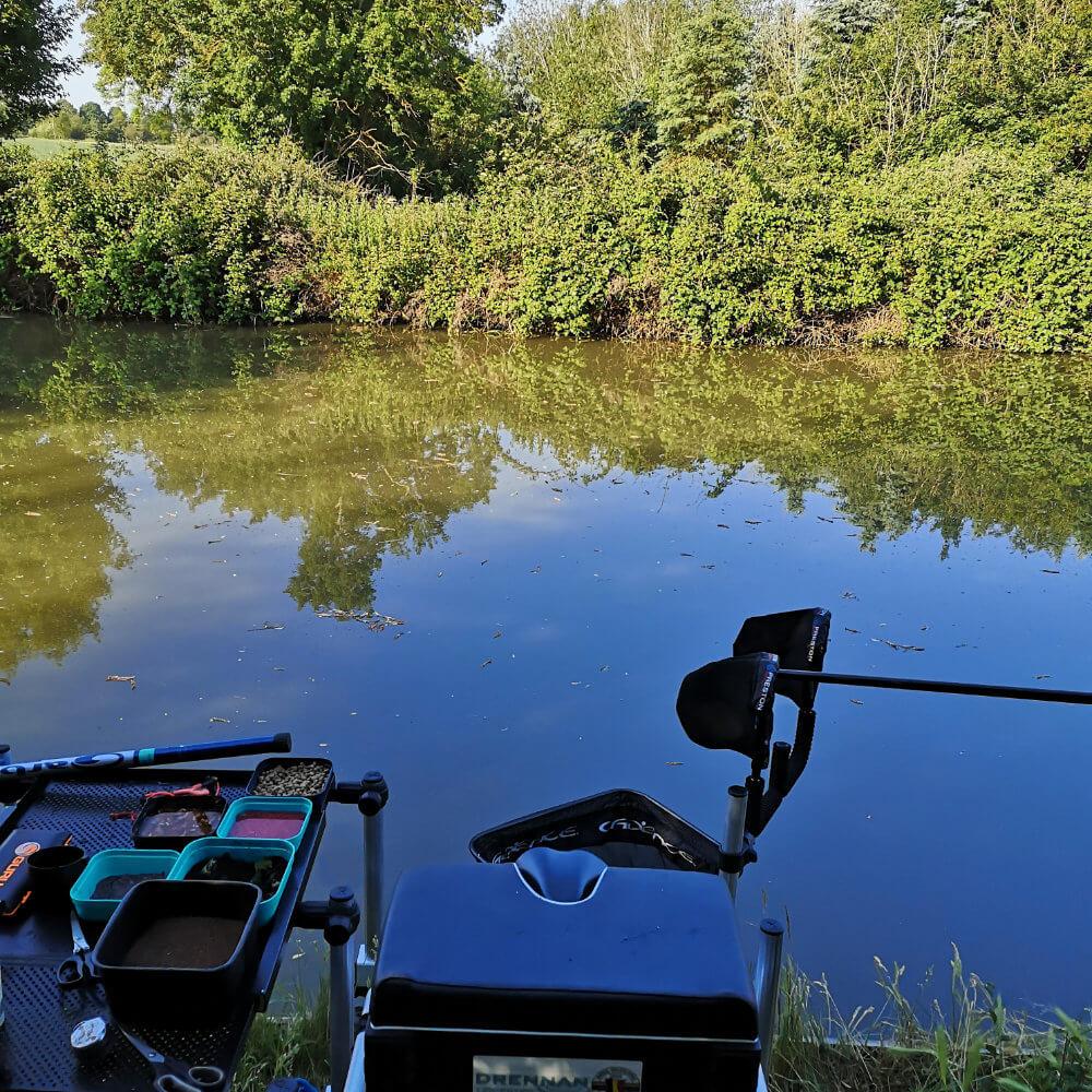 Canal Bream Fishing Swim