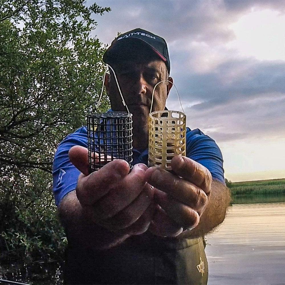 River season open day baiting feeders