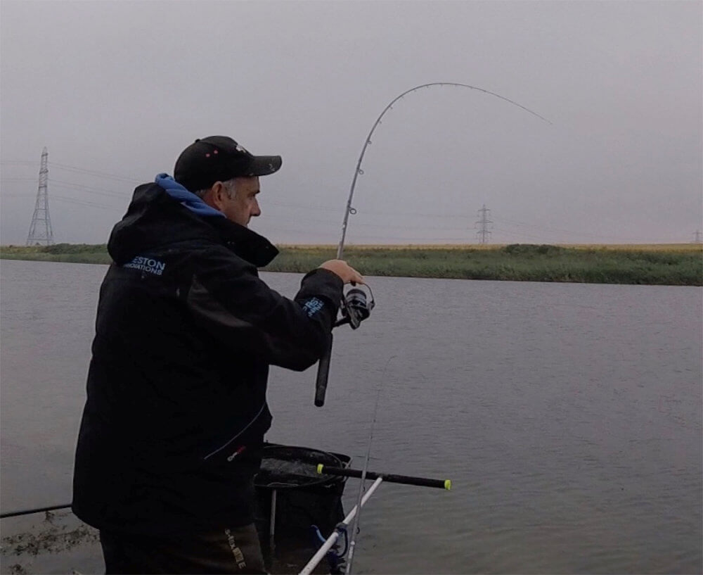 Playing a bream